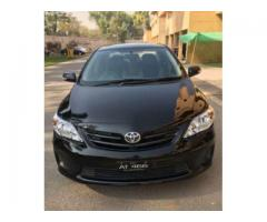 Toyota Corolla Vti Black Color Scratch Less Condition For Sale in Islamabad