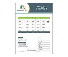 Payment Schedule Of MARDAN ENCLAVE And Booking Details Mardan