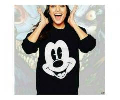 Mickey Sweatshirt For Girls Special Winter Offer With Free Cash On Delivery