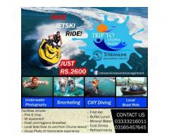 Trip to Churna Island With Free Jet Ski Ride