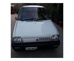 Suzuki Mehran White Color Scratch Less Body Model 2003 Sale In Islamabad