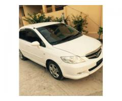 Honda City Model 2006 White Color Well Maintained For Sale in Rawalpindi