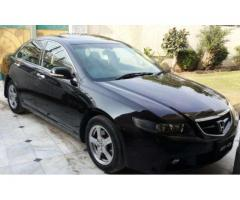 Honda Accord Automatic Black Color Luxury Car For Sale In Faisalabad