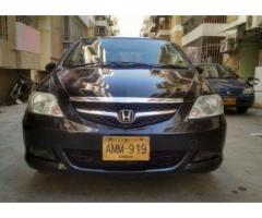 Honda City Black Color Second Owner Model 2006 For Sale In Karachi