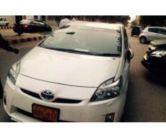 Toyota Prius 1.8 Hybrid White Color View Camera Model 2010 Sale In Karachi