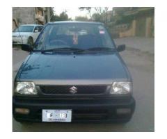 Suzuki Mehran Model 2011 Original Documents Available for Sale in Islamabad