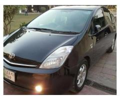 Toyota Prius Black Color Latest Features Model 2007 For Sale In Lahore