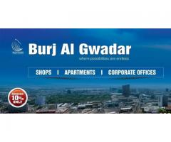 Payment Schedule For Burj Al Gwadar Apartments And Shops On Installments