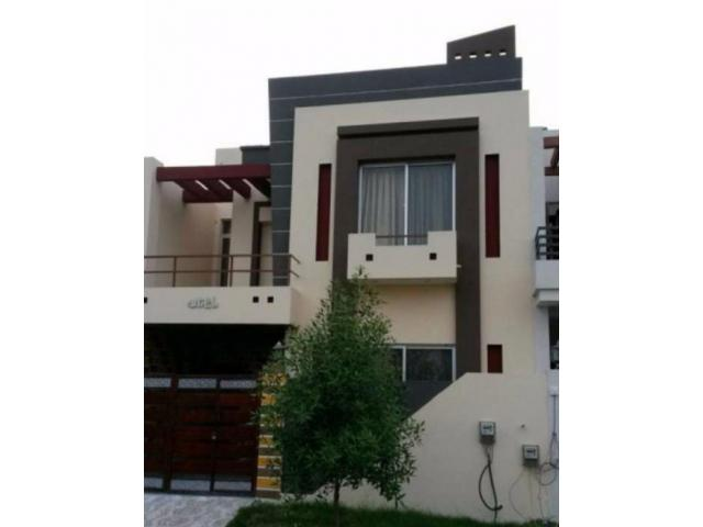 5 Marla Beautiful House Double Unit New Design For Sale In