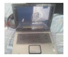 Hp Laptop Core 2 Duo 2GB Ram 17 Inches Screen Available For Sale in Haripur