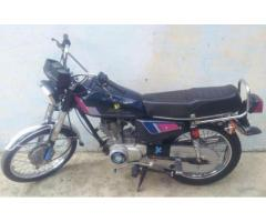 Honda 125 Model 2010 Genuine Condition Reasonable Price Sale In Abbottabad