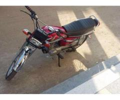 Honda 125 CG Red Color Almost new Model 2015 For Sale in Rawalpindi