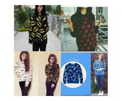 Sweatshirts For Girls Available In All Stylish Prints Home Delivery In Pakistan