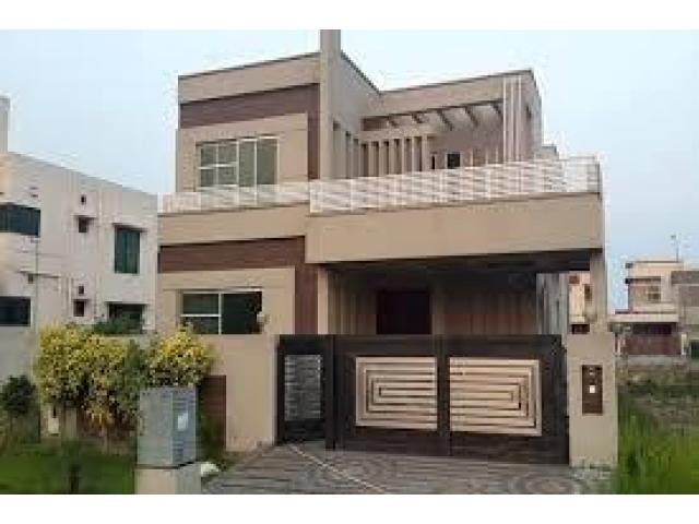 10 Marla Brand New House Beautiful Design For Sale In Bahria Town ...
