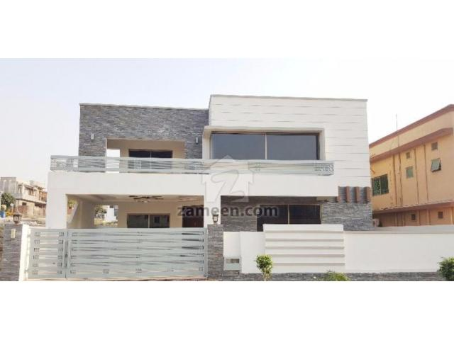 1 Kanal Beautiful House 5 Bedrooms New House Sale In Bahria