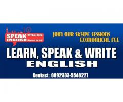 Online (Skype) Spoken English Course for all of you.