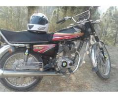 Honda 125 CG Black Color Model 2010 In Excellent Condition Sale In Abbottabad