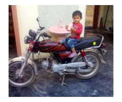 Honda Cd 70 Only 3000 km Used New Engine Available For Sale In Wah