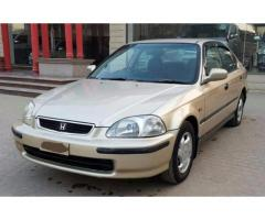 Honda Civic Vti Automatic Model 1996 Scratch Less Condition Sale In Lahore