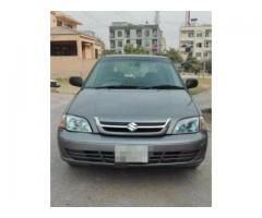 Suzuki Cultus Model 2014 Silver color First Owner Available Sale In Islamabad