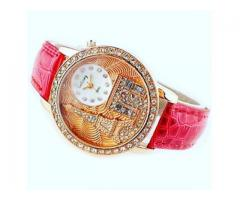 Beautiful Golden Watch for Female For Sale Get It On Doorstep Via Home Delivery