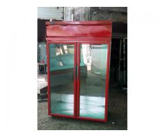 Vertical Meat Display Chiller, Chiller for Meat Shop, Meat Display Chiller