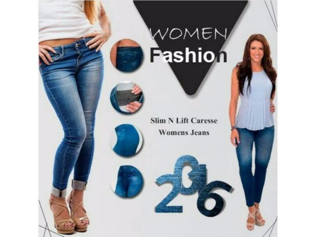Ladies Stylish Jeans High Quality Fabric For Sale Home Delivery In All Pakistan