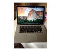 Apple macbook Pro i7 Quad Core Processor 1TB HHD For Sale In Islamabad