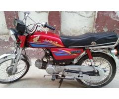 Honda Cd 70 Looking Almost New Original Documents Sale In Islamabad