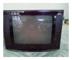 Haier TV 21 inches Screen Working Perfectly HD Colors For Sale In Attock