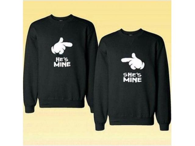 Discount Offer For Couple Sweatshirts Black Color with Free Home Delivery