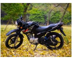 Yamaha YBR 125 Black color Model 2016 New condition Sale In Islamabad