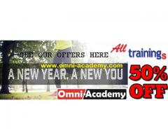 50% off I New Year I Training Discount Packages