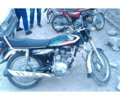 Honda 125 Euro II Model 2015 Almost New Genuine Condition Sale In Muzaffarabad
