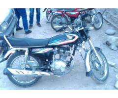 Honda 125 Euro II Model 2015 Almost New Genuine Condition Sale In Muzaffarabad
