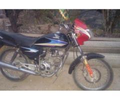 Honda Deluxe 125 Black Color Genuine Condition For Sale in Mirpur