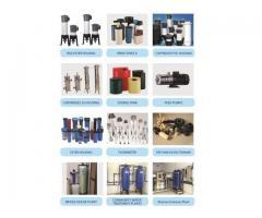 whole house,RO plants,pumps,tanks,cartridges,housing in wholesale rate