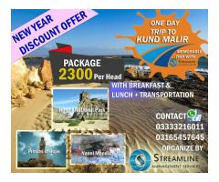 Discounted New Year Offer Trip to Kund Malir
