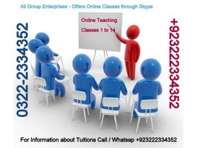 Teaching Classes Available Through Skype for Commerce Subjects