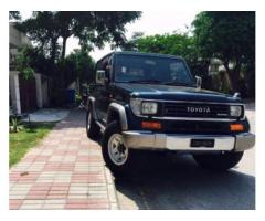 Prado 4x4 New Engine Scratch Less Body For Sale in Gujranwala