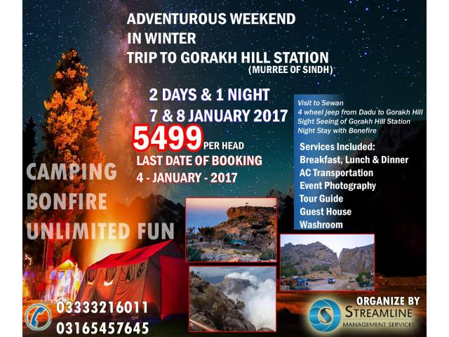 Best Package of the Year 2017 | Gorakh hill Station