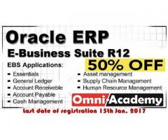 Oracle ERP E.Business Suite R12 Certification program 2017