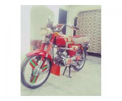 Honda Cd 70 Model 2008 Red Color New Tyre For Sale In Swabi