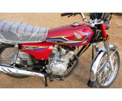 Honda CG 125 Model 2015 Euro II Heavy Sound For Sale In Sargodha