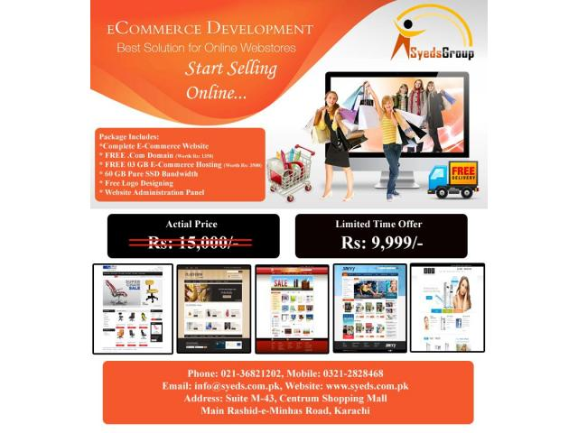 E-Commerce Website in Just Rs: 9999/-