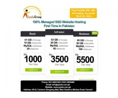 100% Managed Website Hosting in Pakistan