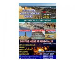 Bonfire at Kund Malir Beach lots of fun join us