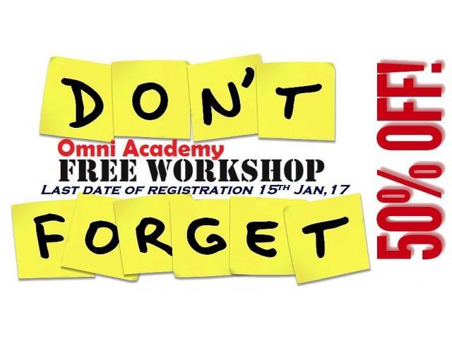 Professional Development Workshops I Free
