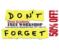 Professional Development Workshops I Free