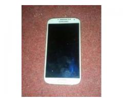 Samsung Galaxy S4 White Color Scratch Less condition Sale In Karachi
